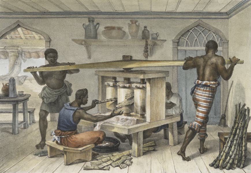 Voyage Pittoresque et Historique au Bresil Vol. 2 - Petit Moulin a Sucre Portatif (1835)