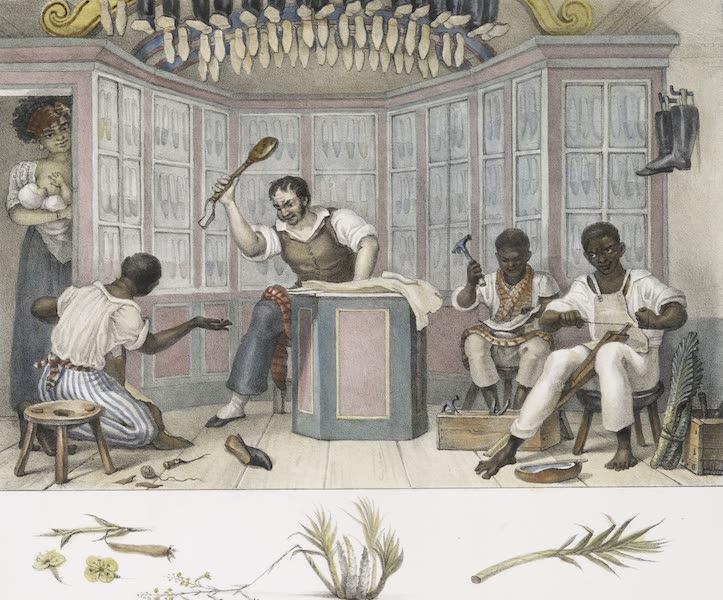 Voyage Pittoresque et Historique au Bresil Vol. 2 - Boutique de Cordonnier (1835)