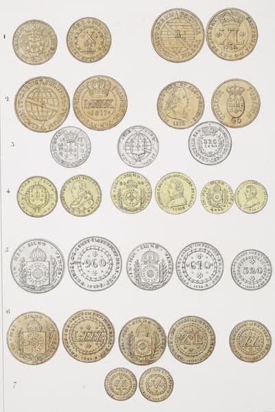 Voyage Pittoresque et Historique au Bresil Vol. 2 - Monnaies Bresiliennes de diverses époques (1835)