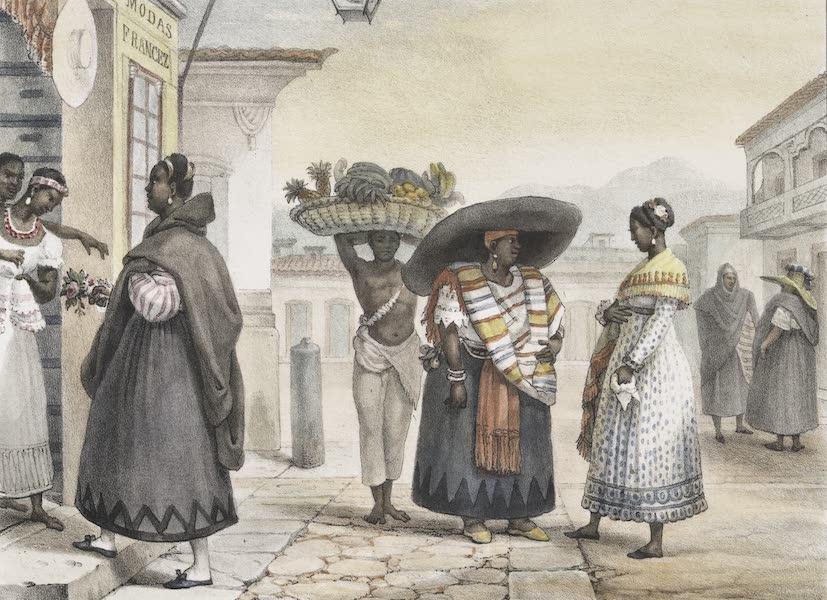 Voyage Pittoresque et Historique au Bresil Vol. 2 - Negresses Libres, vivant de leur travail (1835)