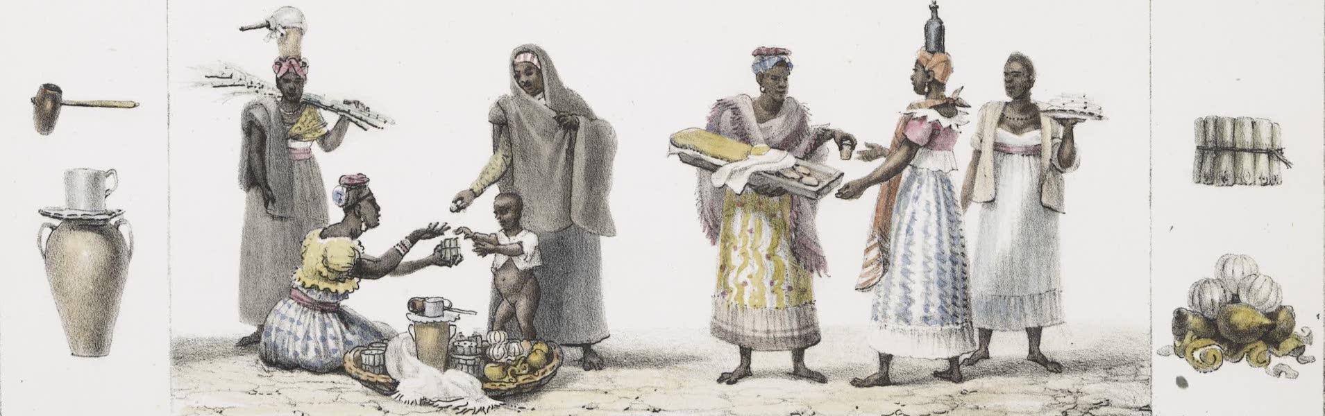 Voyage Pittoresque et Historique au Bresil Vol. 2 - Negresses Marchandes, de Sonos, Manoe, Aloa (1835)