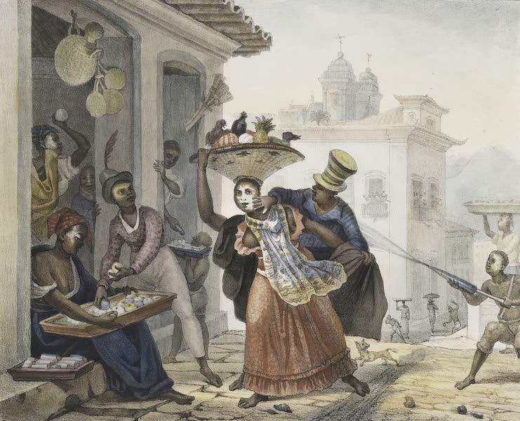 Voyage Pittoresque et Historique au Bresil Vol. 2 - Scene de Carnival (1835)