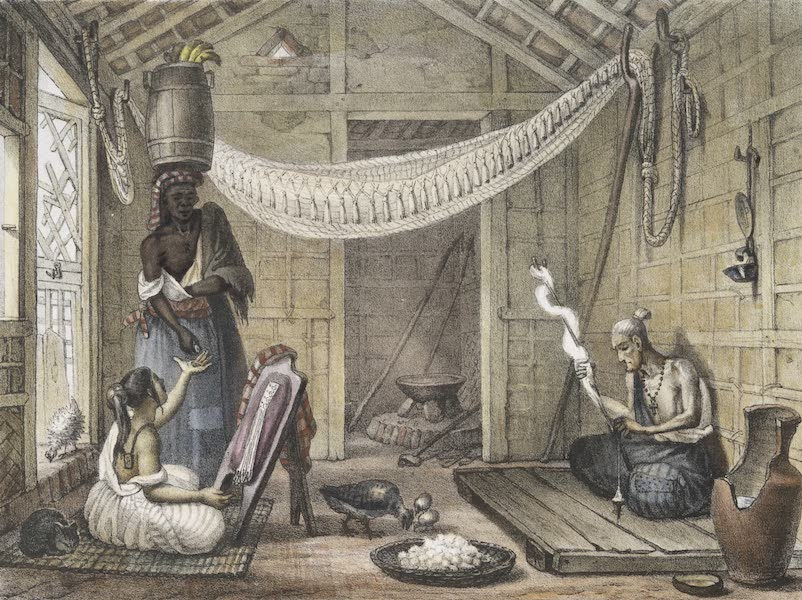 Voyage Pittoresque et Historique au Bresil Vol. 2 - Pauvre Famille dans sa Maison (1835)