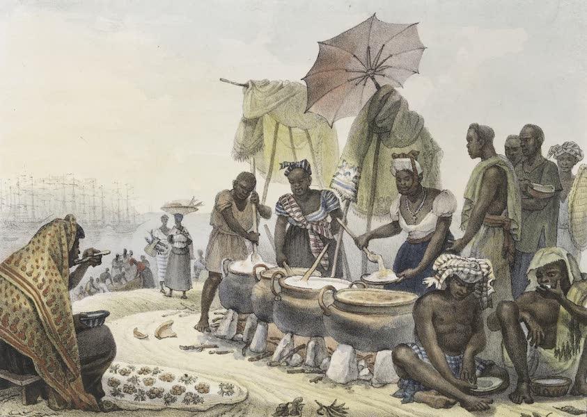 Voyage Pittoresque et Historique au Bresil Vol. 2 - Negresses Marchandes d'Angou (1835)