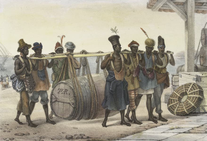 Voyage Pittoresque et Historique au Bresil Vol. 2 - Negres Cangueiros (1835)