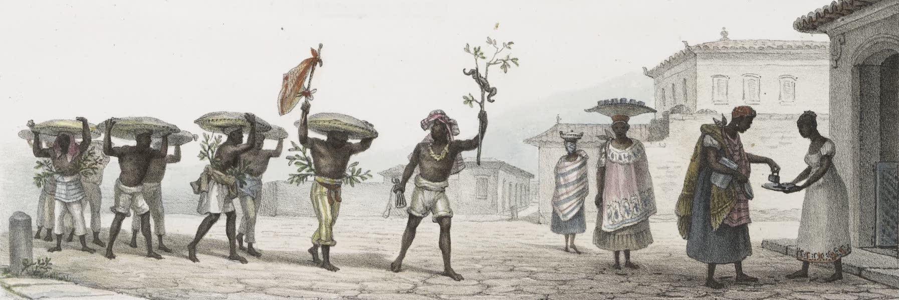 Voyage Pittoresque et Historique au Bresil Vol. 2 - Convoi de Cafe / Marchandes de cafe Brule (1835)