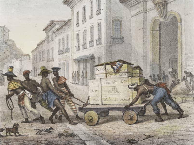 Voyage Pittoresque et Historique au Bresil Vol. 2 - Negros de Carro (1835)