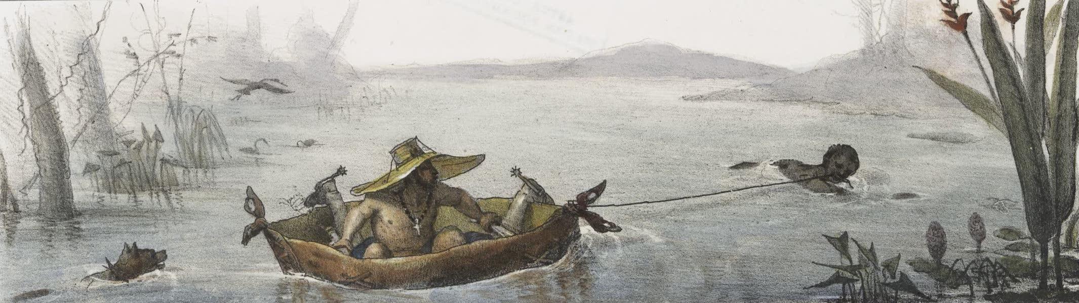 Voyage Pittoresque et Historique au Bresil Vol. 2 - Barque Brésilienne faite avec un Cuir de Boeuf (1835)