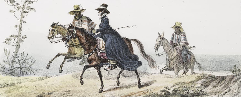 Voyage Pittoresque et Historique au Bresil Vol. 2 - Voyagers de la Province de Rio Grande (1835)