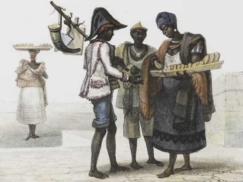 Voyage Pittoresque et Historique au Bresil Vol. 2 - Marchande de Pandelos (1835)