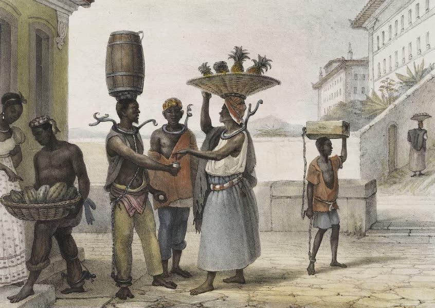 Voyage Pittoresque et Historique au Bresil Vol. 2 - Le Collier de Fer, Chatiment des fugitifs (1835)