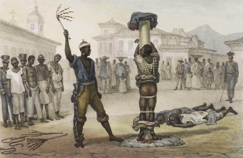 Voyage Pittoresque et Historique au Bresil Vol. 2 - L'Execution de la Punition du Fouret (1835)