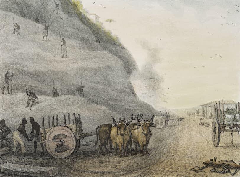 Voyage Pittoresque et Historique au Bresil Vol. 2 - Exploitation d'une Carriere de Granit (1835)