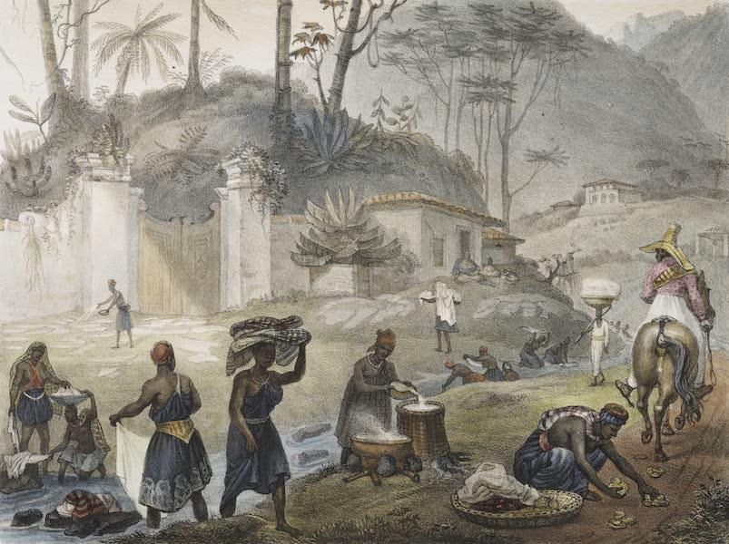 Voyage Pittoresque et Historique au Bresil Vol. 2 - Blanchisseuses a la Riviere (1835)