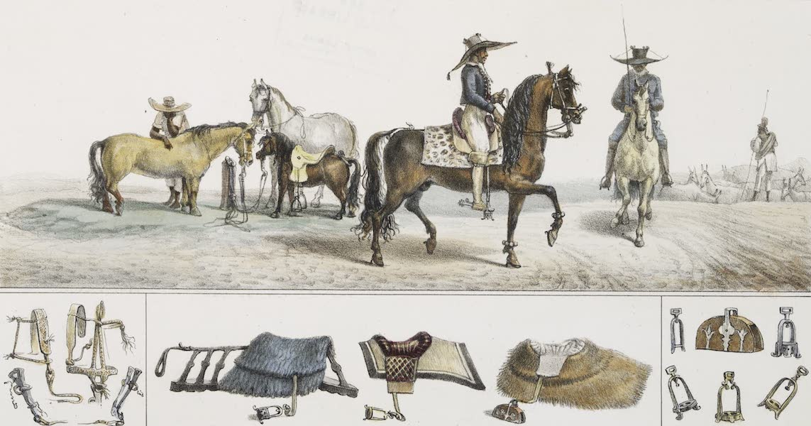 Voyage Pittoresque et Historique au Bresil Vol. 2 - Maquignons Paulistes (1835)