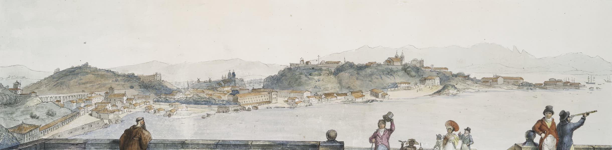 Voyage Pittoresque et Historique au Bresil Vol. 3 - Vue de la meme Ville, prise de l'église de N.N. de la Gloire (1839)