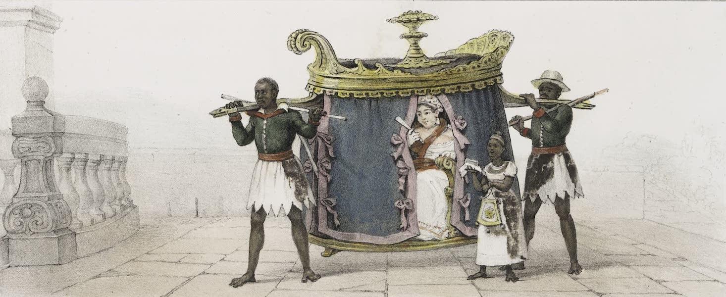 Voyage Pittoresque et Historique au Bresil Vol. 3 - Une dame portee en Caderinha, allant a la Messe (1839)