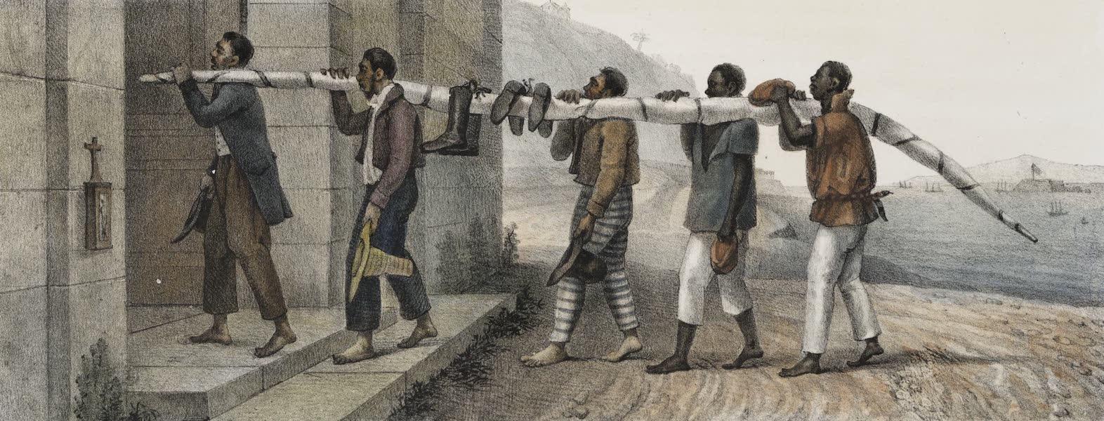 Voyage Pittoresque et Historique au Bresil Vol. 3 - Ex-voto de Marins echappes d'un naufrage (1839)