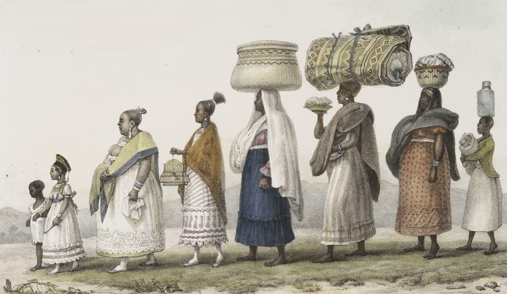 Voyage Pittoresque et Historique au Bresil Vol. 3 - Une Mulatresse allant passer les fetes de Noel, a la campagne  (1839)