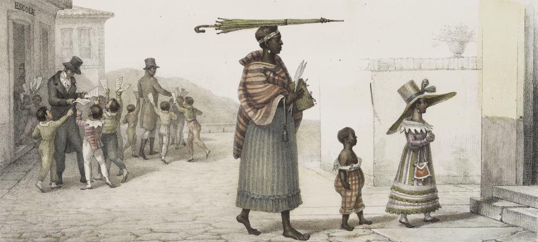 Voyage Pittoresque et Historique au Bresil Vol. 3 - Concours des Ecoliers, la veille du jour de St. Alexis (1839)