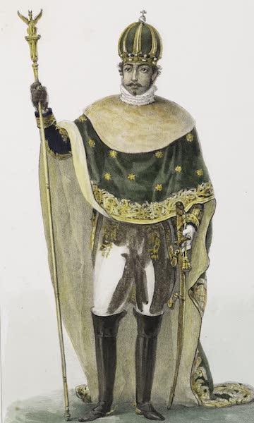 Voyage Pittoresque et Historique au Bresil Vol. 3 - L'Empereur Don Pedro I - Grand Costume (1839)