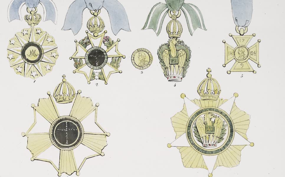 Voyage Pittoresque et Historique au Bresil Vol. 3 - Ordres Bresiliens (1839)