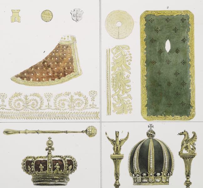 Voyage Pittoresque et Historique au Bresil Vol. 3 - Couronnes, Sceptres et manteaux (1839)