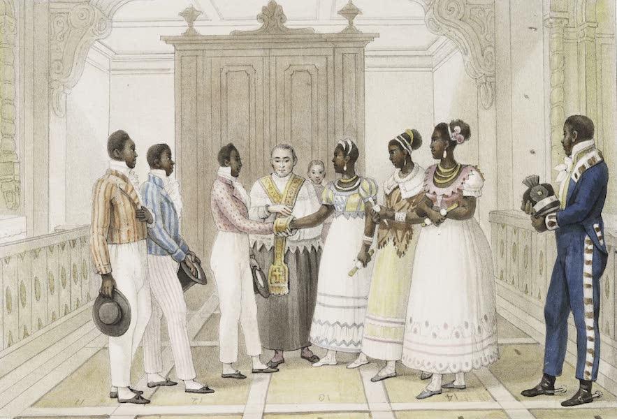 Voyage Pittoresque et Historique au Bresil Vol. 3 - Mariage de Negres d'une Maison Riche (1839)