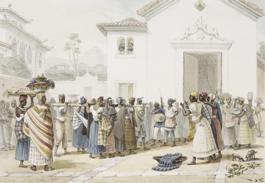 Voyage Pittoresque et Historique au Bresil Vol. 3 - Enterrement d'une femme Negre (1839)