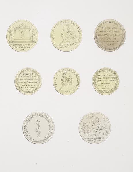 Voyage Pittoresque et Historique au Bresil Vol. 3 - Medailles Frappes a Rio de Janeiro (1839)