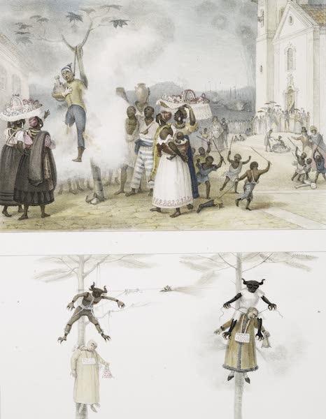Voyage Pittoresque et Historique au Bresil Vol. 3 - Brulement de l'effigie du Juda (1839)