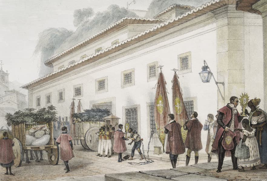 Voyage Pittoresque et Historique au Bresil Vol. 3 - Vivres portes aux Prisonniers La veille de la Pentecôte (1839)