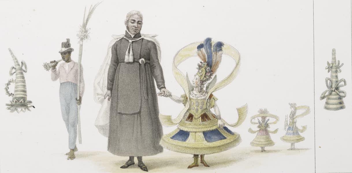 Voyage Pittoresque et Historique au Bresil Vol. 3 - Ange revenant de la procession Un domestique Negre rapportant la palme de son maitre, le dimanche des rameaux (1839)