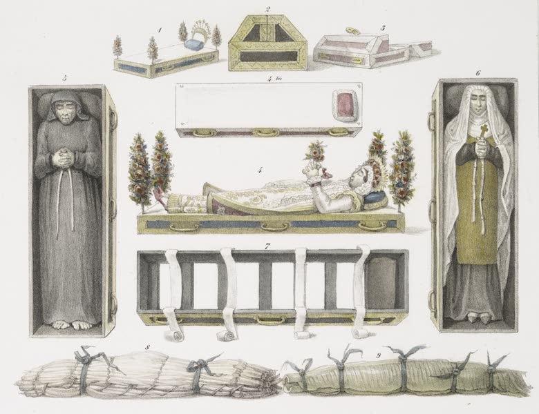 Voyage Pittoresque et Historique au Bresil Vol. 3 - Divers Cercueils (1839)