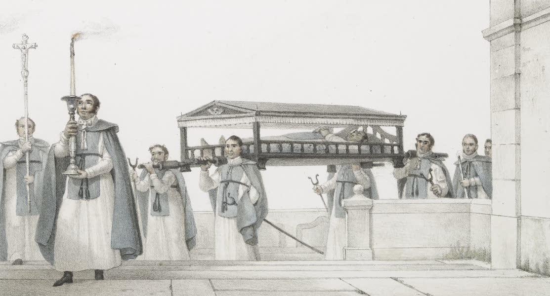Voyage Pittoresque et Historique au Bresil Vol. 3 - Convoi Funebre d'un Membre de la Confrerie de N.D. de la Conception  (1839)