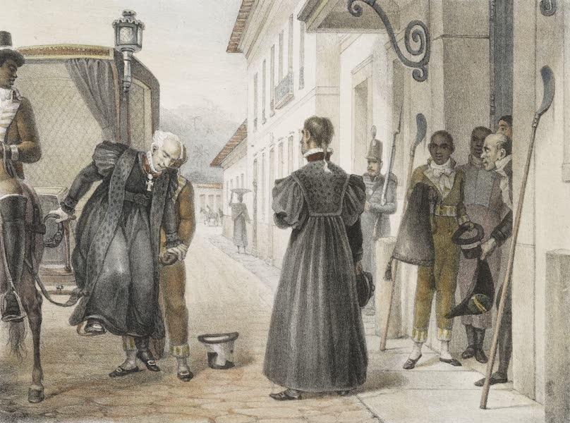Voyage Pittoresque et Historique au Bresil Vol. 3 - Desembargadores, arrivant en Costume au Palais de Justice (1839)