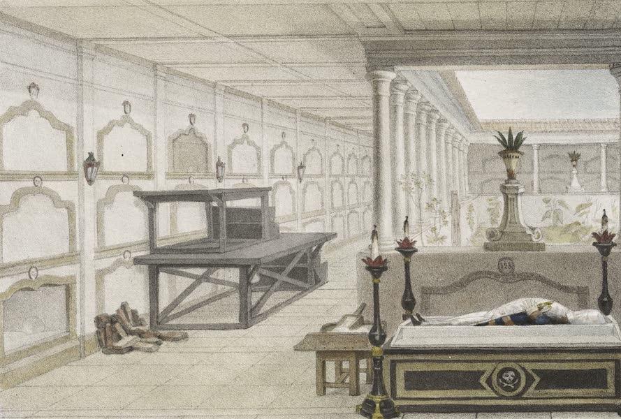 Voyage Pittoresque et Historique au Bresil Vol. 3 - Catacombes de la Paroisse des Carmes  (1839)