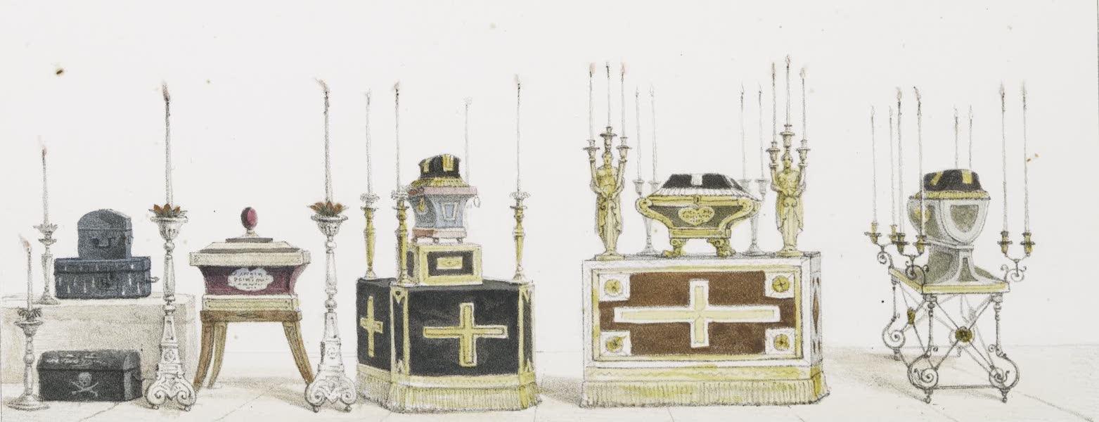 Voyage Pittoresque et Historique au Bresil Vol. 3 - Petits Sarcophages, dans Lesquels se conservent les Ossements (1839)