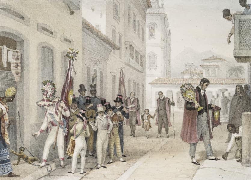 Voyage Pittoresque et Historique au Bresil Vol. 3 - Quête nomme la folie de l'empereur du St. Esprit (1839)