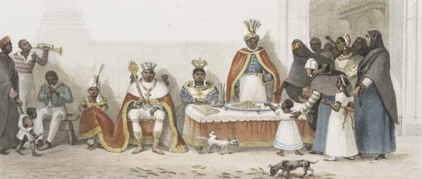 Voyage Pittoresque et Historique au Bresil Vol. 3 - Quete pour l'entretien de l'église du Rosario (1839)