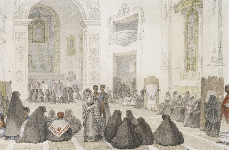 Voyage Pittoresque et Historique au Bresil Vol. 3 - Une Matinee du Mercredi Saint, a l'Eglise (1839)