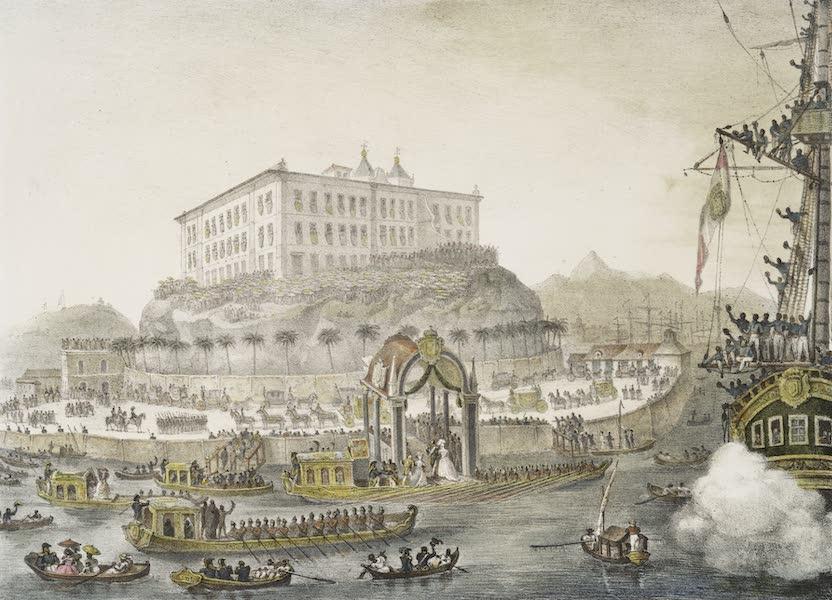 Voyage Pittoresque et Historique au Bresil Vol. 3 - Deparquement de la Princesse Leopoldine a Rio de Janeiro (1839)