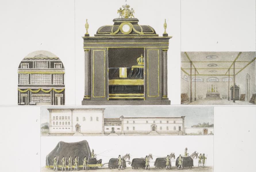 Voyage Pittoresque et Historique au Bresil Vol. 3 - Monument et Convoi Funebres de l'Imperatrice Leopoldine a Rio de Janeiro (1839)