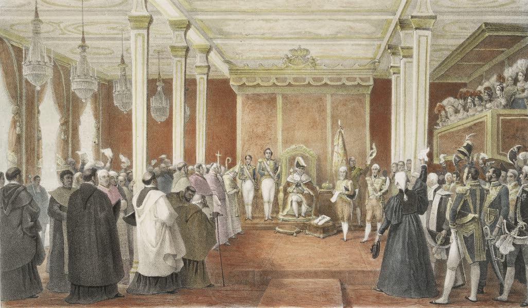 Voyage Pittoresque et Historique au Bresil Vol. 3 - Acclamation du Roi Dom Jean VI a Rio de Janeiro (1839)