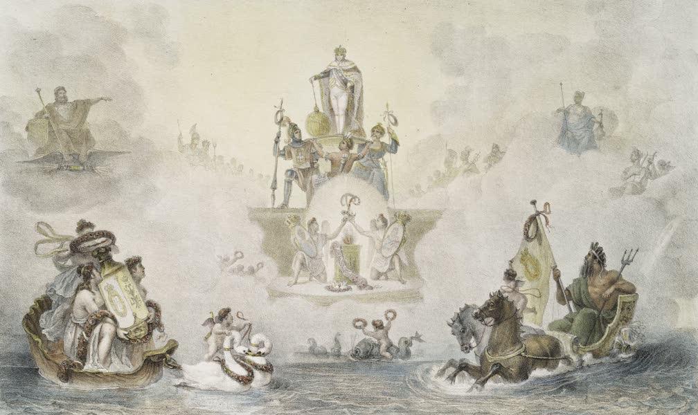 Voyage Pittoresque et Historique au Bresil Vol. 3 - Decoration du Ballet Historique donne au Theatre de la Cour, a Rio de Janeiro, 13 Mai, 1818 (1839)