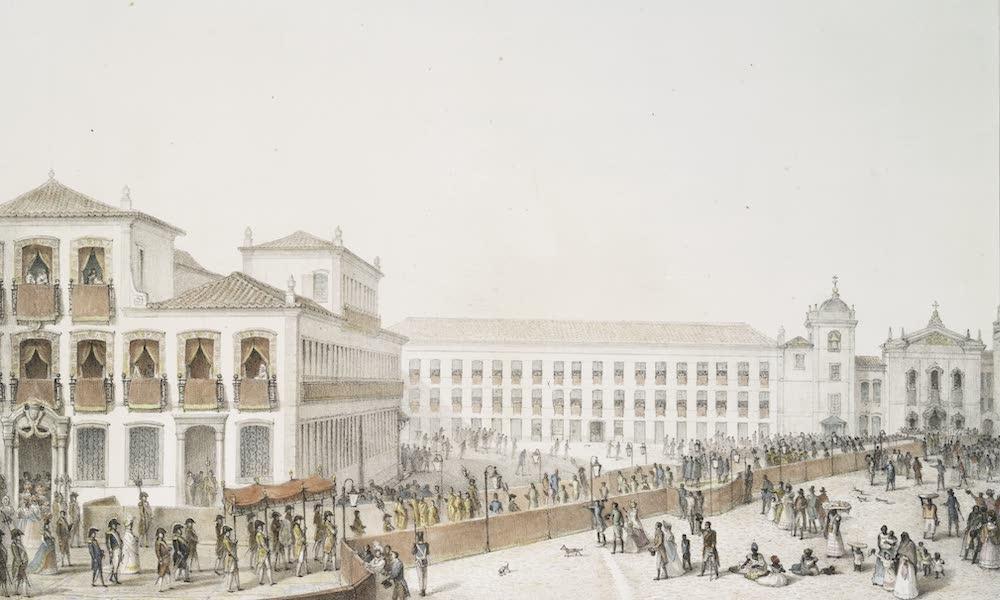 Voyage Pittoresque et Historique au Bresil Vol. 3 - Cortege du Bapteme de la Princesse Royale Donna Maria da Gloria (1839)