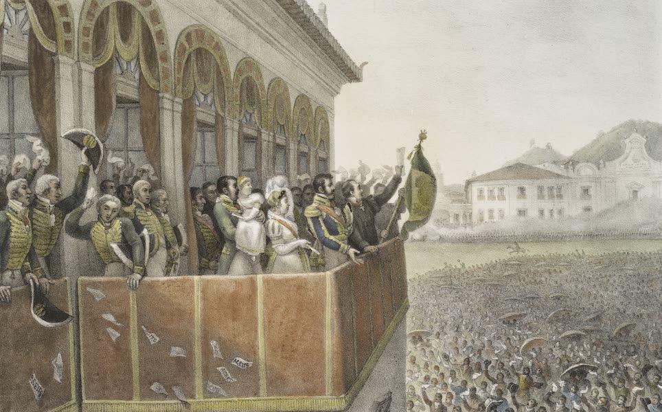 Voyage Pittoresque et Historique au Bresil Vol. 3 - Acclamation de Don Pedro I, l'empereur du Bresil - Cremonie de Sacre de Dom Pedro I, l'empereur du Bresil a Rio de Janeiro, le 1 Decembre 1822 (1839)