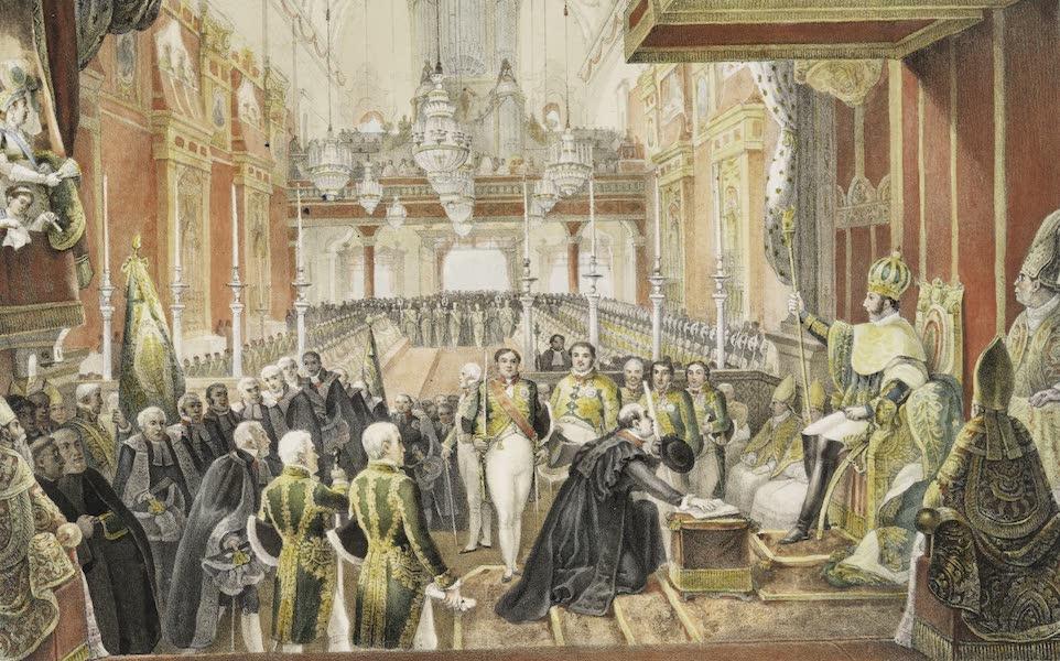 Voyage Pittoresque et Historique au Bresil Vol. 3 - Ceremonie de sacre de Dom Pedro I, l'empereur du Bresil, a Rio de Janeiro, le 1 Decembre 1822 (1839)