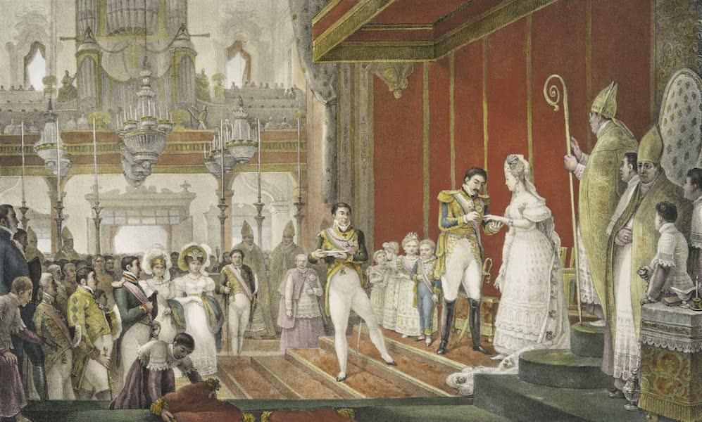 Voyage Pittoresque et Historique au Bresil Vol. 3 - Mariage de S.M.I.D. Pedro I avec la Princesse Amelie de Leuchtenberg, 2nd Imperatrice du Bresil (1839)