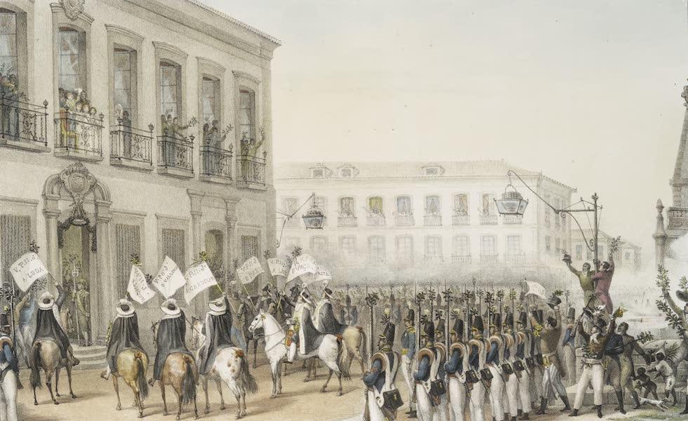 Voyage Pittoresque et Historique au Bresil Vol. 3 - Acclamation de Dom Pedro II a Rio de Janeiro, le 7 Avril 1831 (1839)